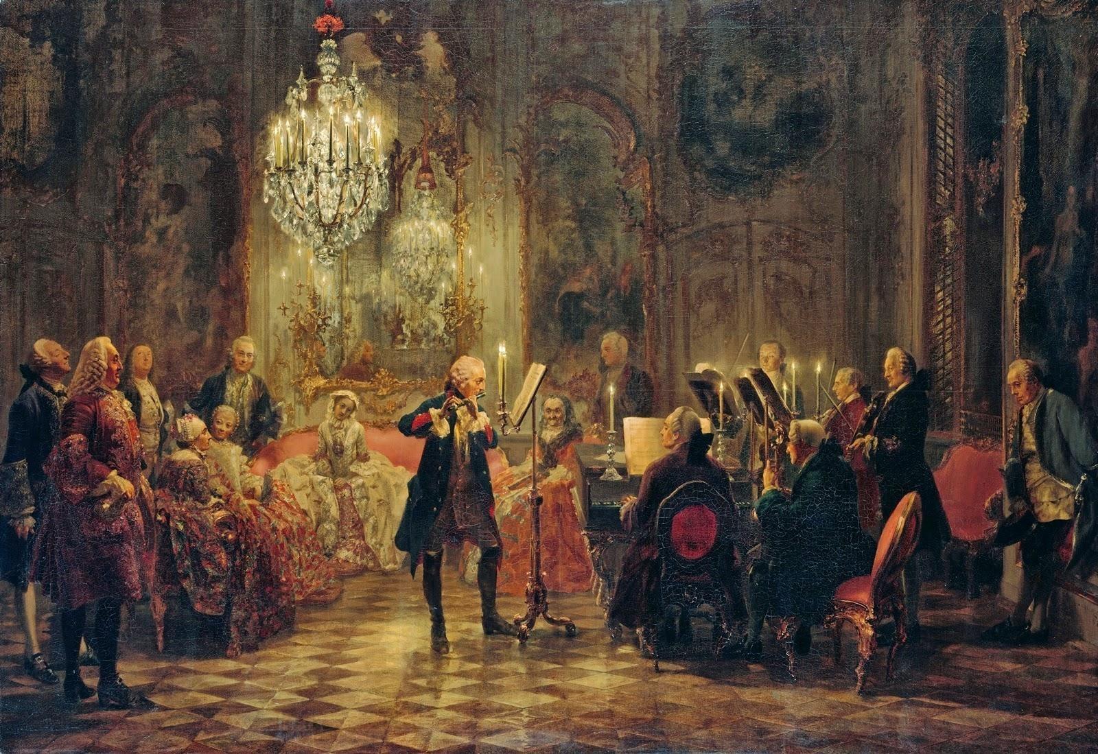 Federico II – El rey Flautista
